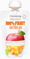 Clearspring Apple & Mango Fruit Puree On The Go Organic
