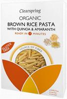 Clearspring Brown Rice Pasta Quinoa & Amaranth Organic