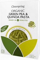 Clearspring Green Pea & Quinoa Pasta Organic