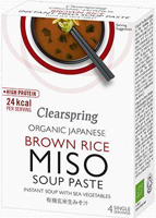 Clearspring Organic Miso Soup With Sea Vegetables 40g