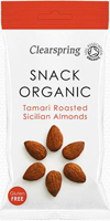 Clearspring Tamari Roasted Sicilian Almonds Organic