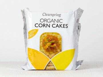 Clearspring Corn Cakes Organic