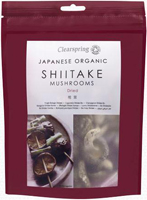 Clearspring Japanese Shiitake Mushrooms Organic