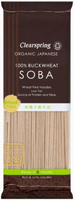 Clearspring Japanese 100% Buckwheat Soba Noodles Organic