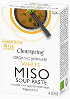 Clearspring White Instant Miso Soup Paste Organic
