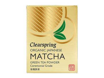 Clearspring Matcha Green Tea Powder Ceremonial Grade Organic