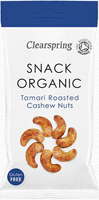 Clearpsring Tamari Roasted Cashew Nuts Organic
