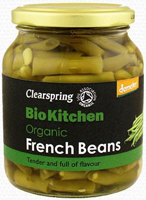 Clearspring Bio Kitchen French Beans Organic