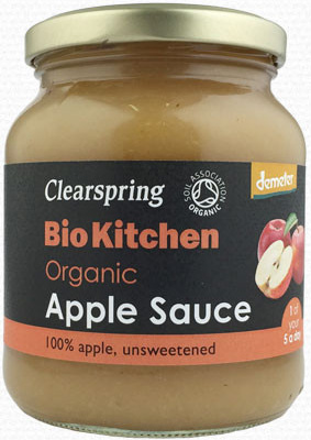 Clearspring Apple Sauce Organic