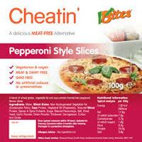 VBites Cheatin' Pepperoni Style Slices