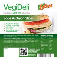 VBites VegiDeli Sage & Onion Slices