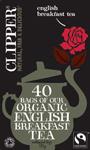 Clipper English Breakfast Tea Bags Organic Fairtrade