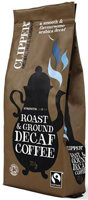 Clipper Roast & Ground Decaf Coffee Fairtrade Organic