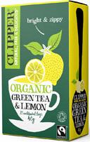 Clipper Green Tea & Lemon Tea Organic