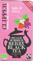 Clipper Summer Berry Black Tea Organic