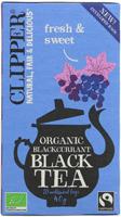 Clipper Blackcurrant Black Tea Organic