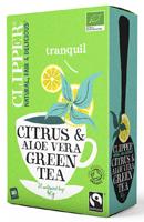 Clipper Citrus & Aloe Vera Green Tea Organic