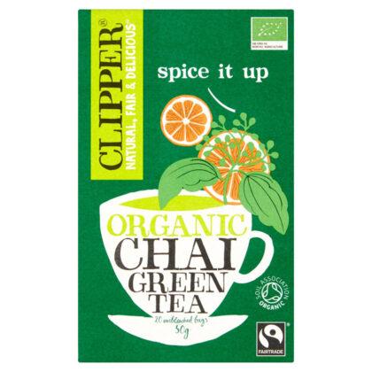 Clipper Green Chai Organic Fairtrade