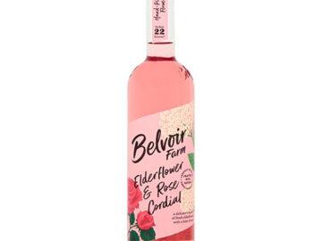 Belvoir Elderflower & Rose Cordial Organic