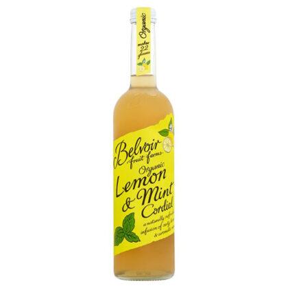 Belvoir Lemon & Mint Cordial Organic