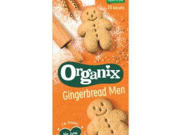 Organix Mini Gingerbread Men Organic
