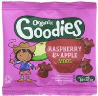 Organix Goodies Raspberry & Apple Moos Organic
