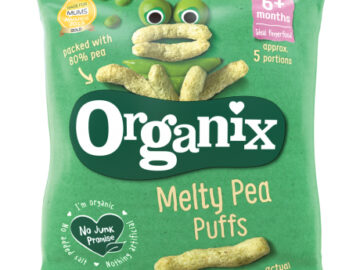 Organix Melty Pea Puffs Organic