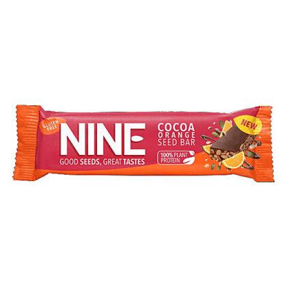 Nine Cocoa Orange Seed Bar