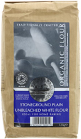 Bacheldre Watermill Unbleached Plain White Flour Organic