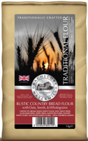 Bacheldre Watermill Rustic Country Bread Flour 1kg