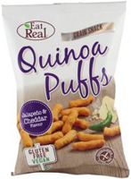 Eat Real Quinoa Puffs Jalapeno & Cheddar Flavour