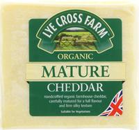 Lye Cross Farmhouse Mature Cheddar Organic