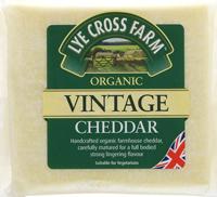 Lye Cross Farmhouse Vintage Cheddar Organic 245g
