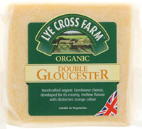 Lye Cross Farm Double Gloucester Cheese Organic 245g
