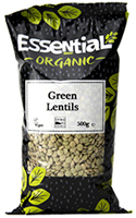 Essential Green Lentils Organic