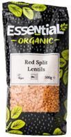 Essential Red Split Lentils Organic