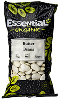 Essential Butter Beans Dried Organic