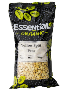 Essential Yellow Split Peas Organic