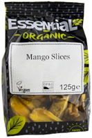 Essential Fairtrade Mango Slices Organic 125g
