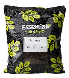 Essential Sultanas Organic 1kg