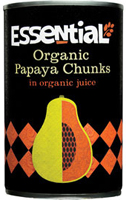 Essential Papaya Chunks In Juice Organic