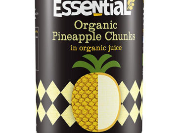 Essential Pineapple Chunks Organic