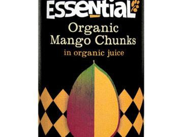 Essential Mango Chunks in Juice Organic
