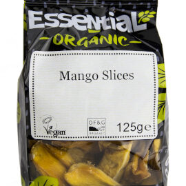 Essential Mango Slices Organic 125g
