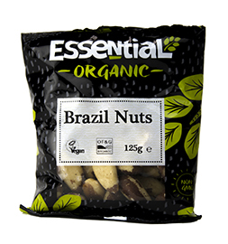 Essential Brazil Nuts Organic 125g