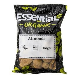 Essential Almonds Whole Organic 250g