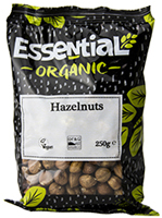 Essential Hazelnuts Whole Organic 250g