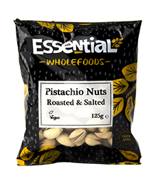 Essential Roasted And Salted Pistachio Nuts