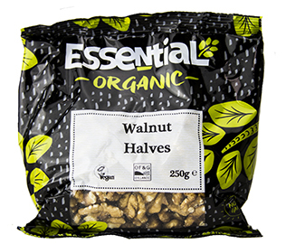 Essential Walnut Halves Organic 250g