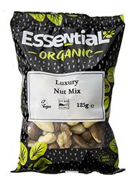 Essential Luxury Nut Mix Organic 125g